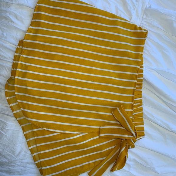 Charlotte Russe Dresses & Skirts - Wrap skort